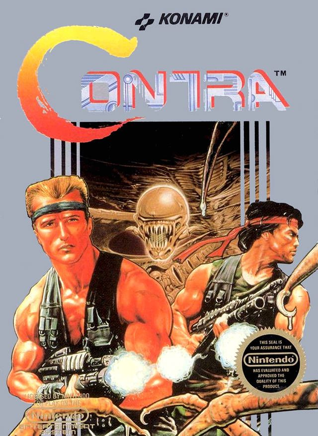 contra up up down down left right left right b a start gamer life