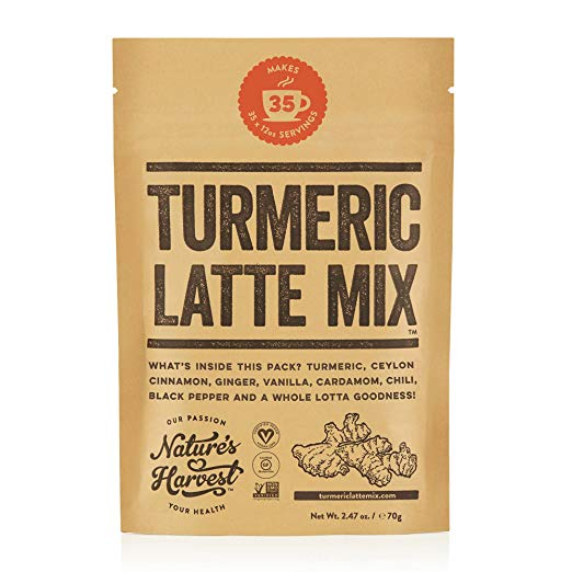 Amazon.com : Nature's Harvest Turmeric Latte Mix