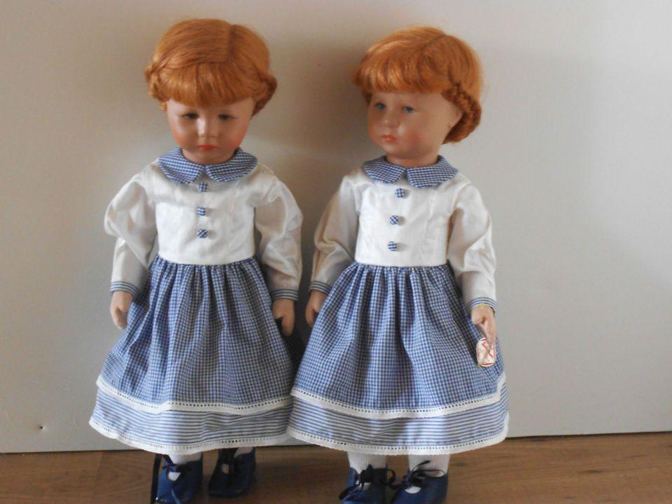 Käthe Kruse Puppen,Sammlerwürdig,Dachbodenfund,2 Stück,Alter unbek.