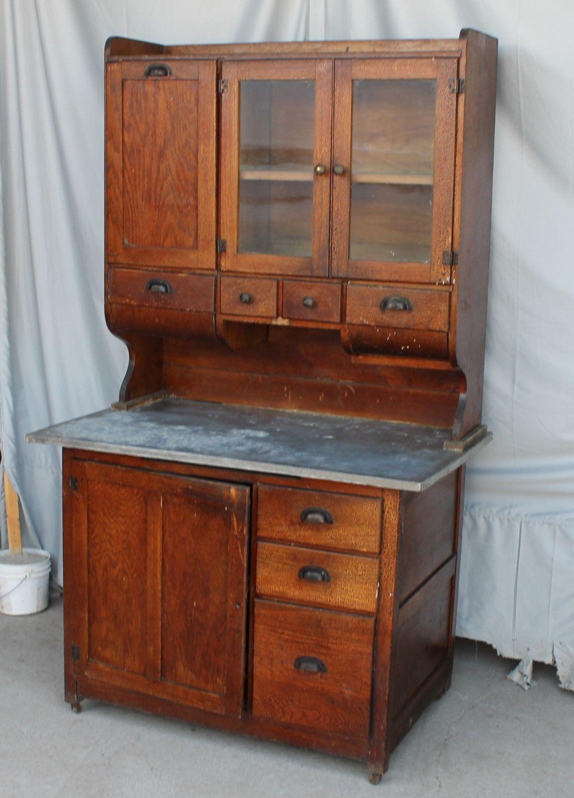 Best Kitchen Gallery: Antique Oak Kitchen Cabi Wilson Pany Early Kitchen Cabi of Wilson Antique Kitchen Cabinet on rachelxblog.com