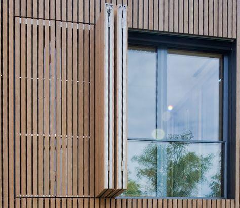Kunstlich Grau Verfarbte Larche Haus In 2019 Fassade Haus