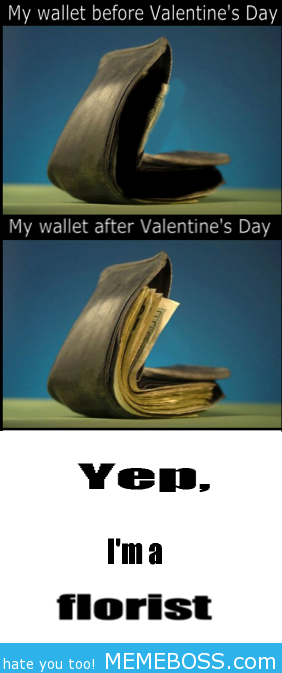 Collection of 16 Valentine's Day Jokes Pinned solely for the florist joke ;)