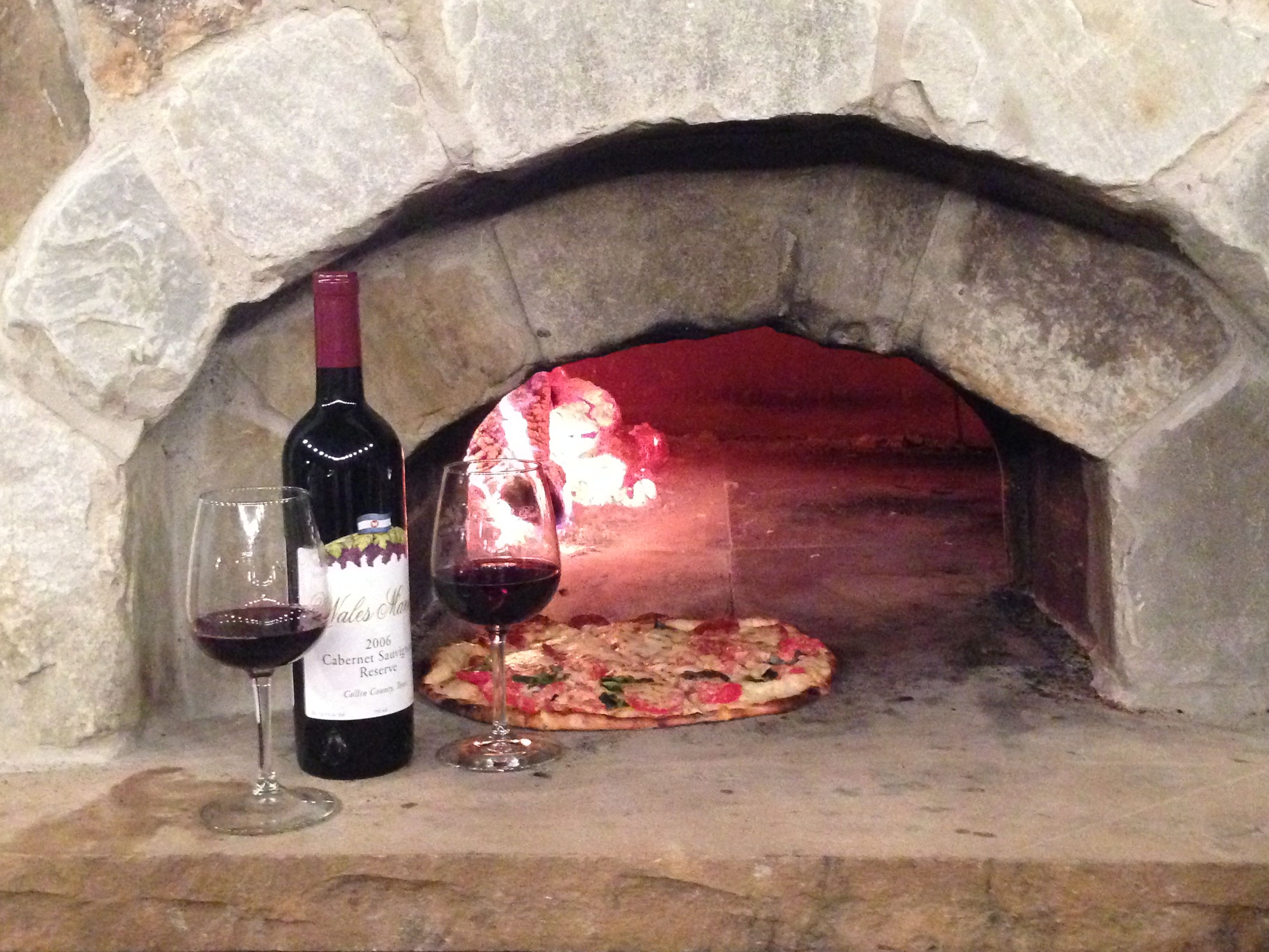 Wood Fired Pizza Oven Wine House Wood Fired Pizza Wood Fired Pizza Oven