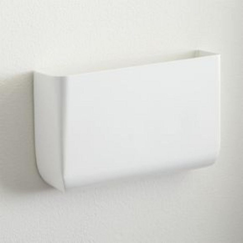 CB2   September Catalog   Revere White Wall Mounted Storage