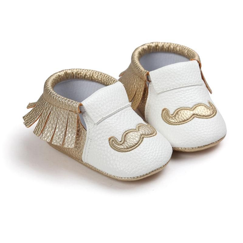 Free Shipping Tassels 26-Color PU Leather Baby Shoes Baby Moccasins Newborn Shoes  Soft Infants Crib Shoes Sneakers First Walker 43cf011be3de