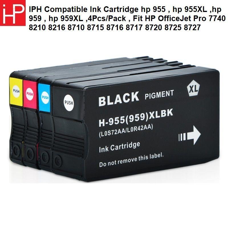 Iph Compatible Ink Cartridge Hp 955 Hp 955xl Hp 959 Hp 959xl