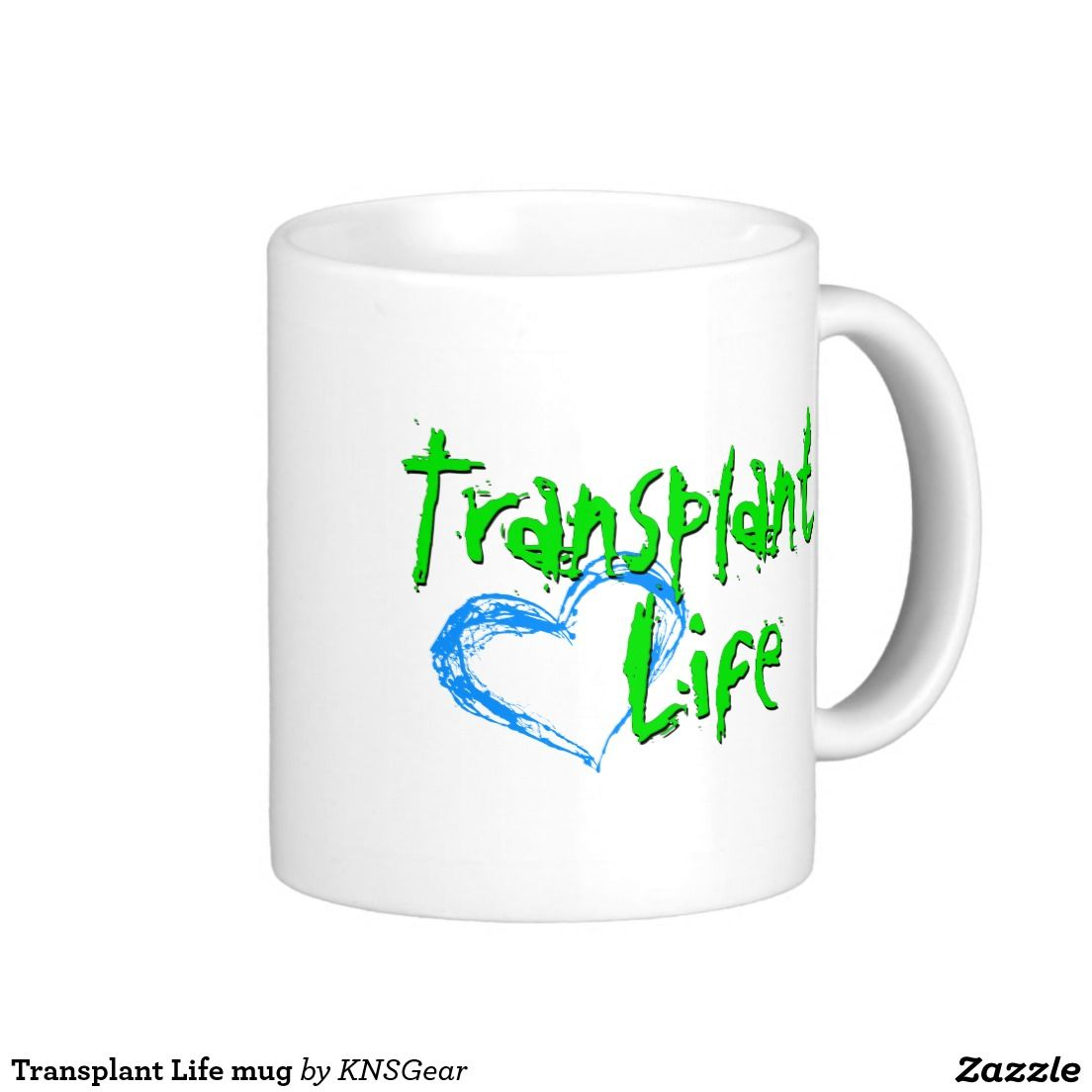Transplant Life mug - Transplant Life mug Basic White Mug -Hey, Salt Life and Beach Life, move over. Now there's Transplant Life, for all you transplant recipients, caregivers, spouses, family members and friends. Support organ, tissue, and eye donation with this stylish new look. Organ donation, liver, kidney, heart, lung transplant. Bone marrow and Stem cell recipients. #DonateLife #OrganDonation #OrganDonor #TransplantRecipient #TransplantLife