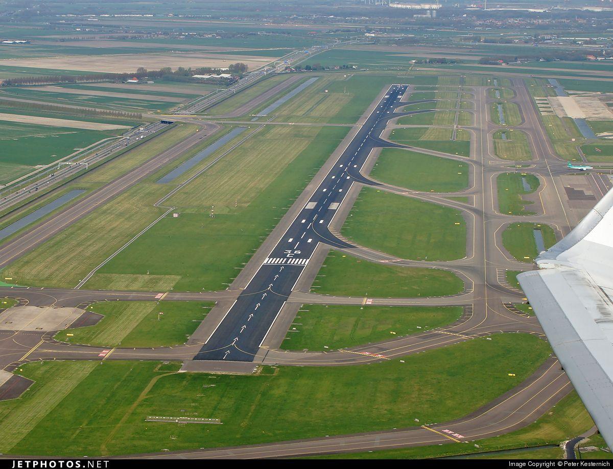 Airport Eham Amsterdam Schiphol Airport Eham Aerial View