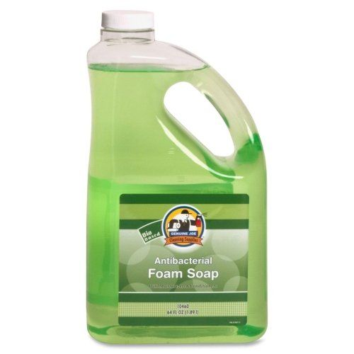Genuine Joe Gjo10460 Antibacterial Moisturizing Foaming Hand Soap