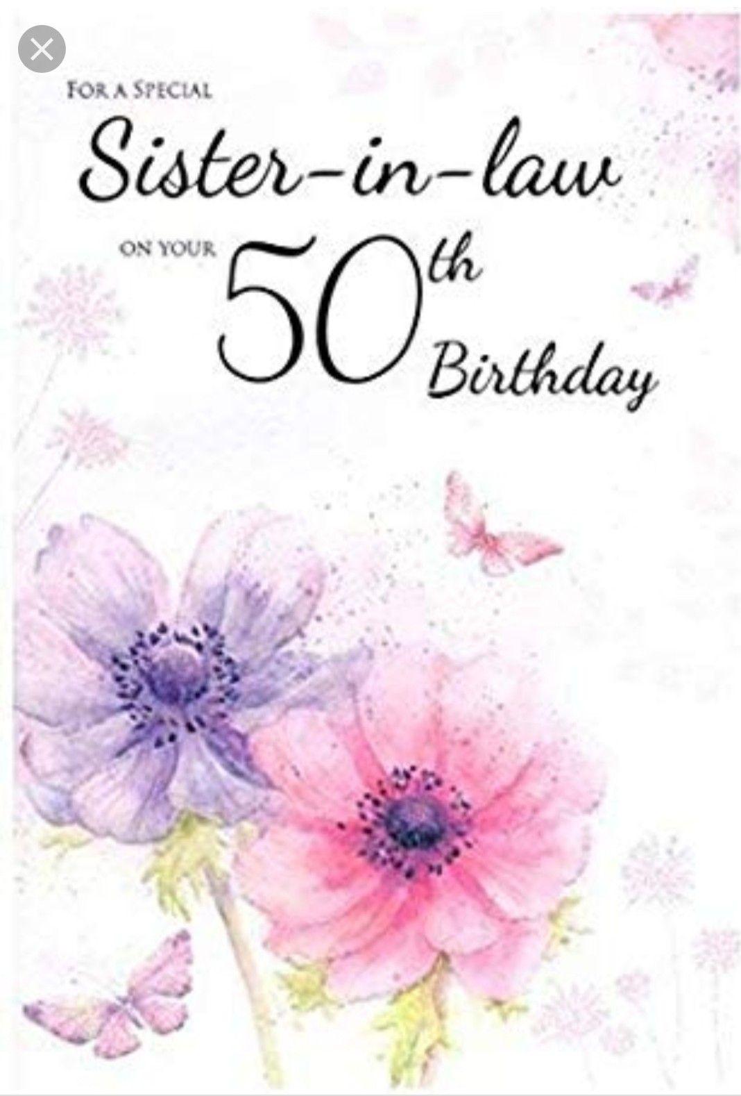 Pin Van Kim Robinson Op Happy Birthday Sister In Law
