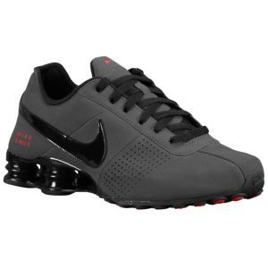 puenting Comandante Caña  Nike Shox Deliver - Men's - Running - Shoes - Anthracite/Black/Red |  Running shoes for men, Sneakers men fashion, Nike free shoes