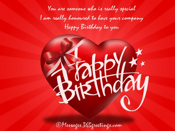 Birthday Wishes for Someone Special Messages, Greetings and Wishes - Messages, Wordings and Gift Ideas