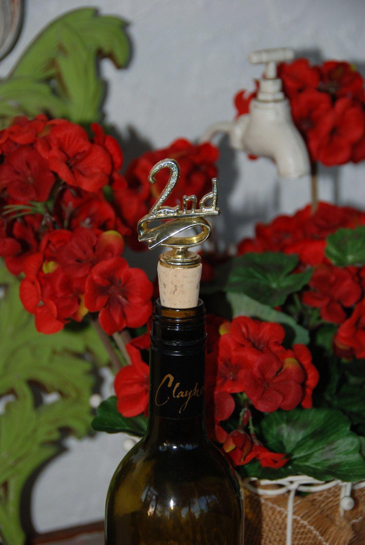 2nd Place Trophy Wine Bottle Stopper Wine Bottle Stoppers Bottle Stoppers Wine Bottle