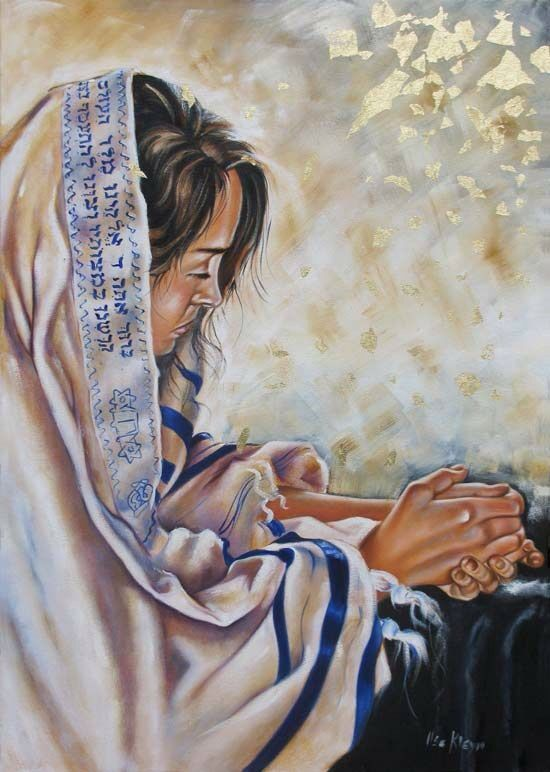 A woman davening :) | Prophetic art, Prophetic painting, Biblical art
