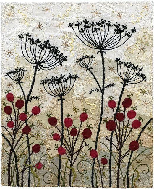 Amazing embroidery by kirsten chursinoff вышивка
