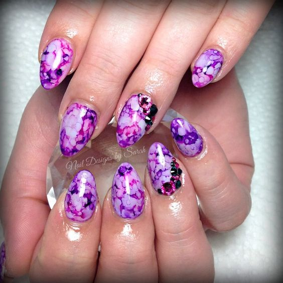 23 Sharpie Nail Art Designs For This Spring Colorful Phalanges