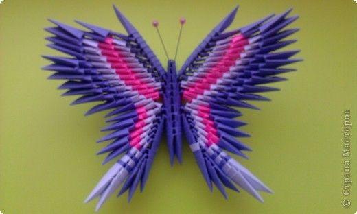 Модульное Оригами Бабочка Пошаговая Инструкция