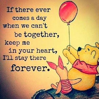 The wisdom of Pooh....