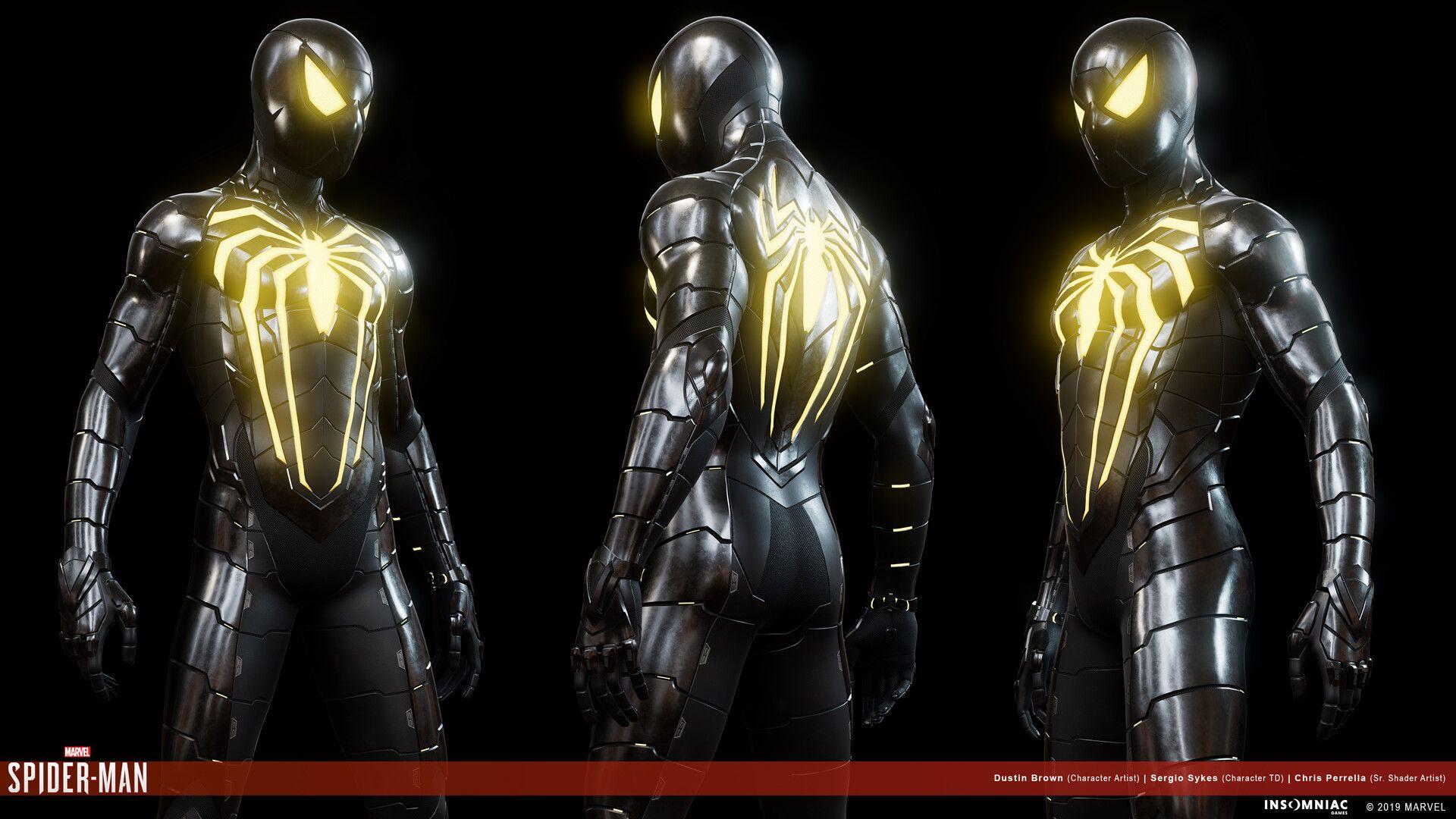 ArtStation - Anti-Ock Suit, Dustin Brown | Spiderman art, Iron man art, Superhero