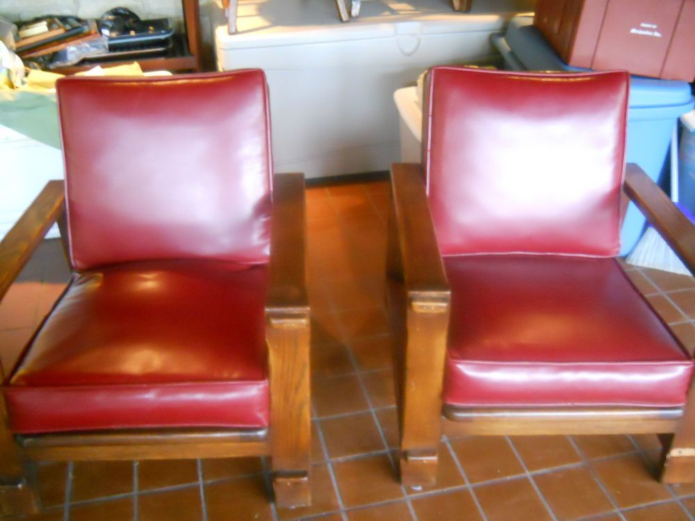 Old Hickory Furniture Co Martinsville,Ind MATCHING PAIR OF CHAIRS