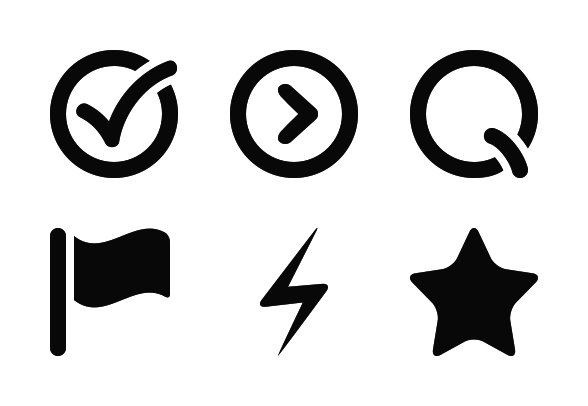 Bullet Points Icons By Web1 Technology Social Media Drawings Icon License Icon