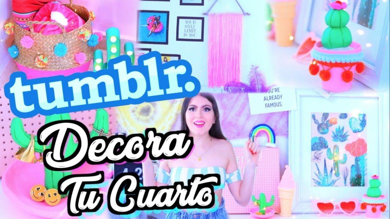 DIY Decora Tu Cuarto Tumblr Aprende a hacer decoraciones FÁCIL ...