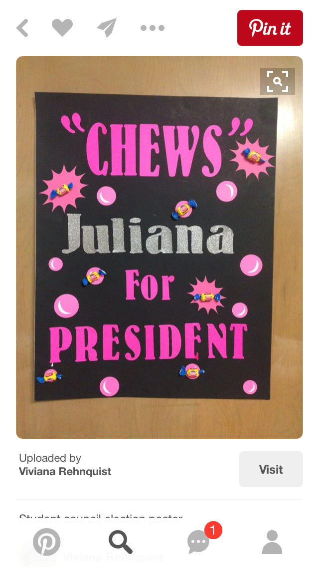 Pin by liyah mcleod on Student council election ...