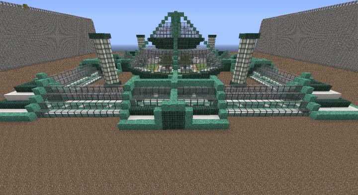 Fort Triton Underwater Base Minecraft Map Minecraft Houses Minecraft Underwater Minecraft Underwater House