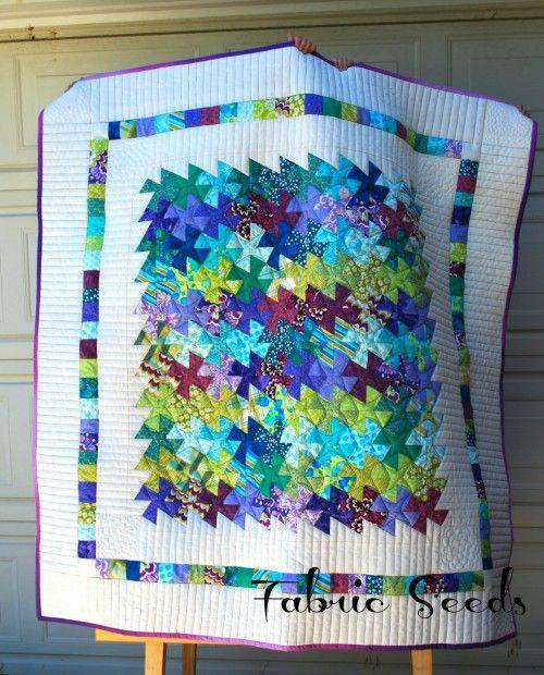 Lil Twister Quilt Tutorial and Inspiration | http ... : twister quilt patterns - Adamdwight.com