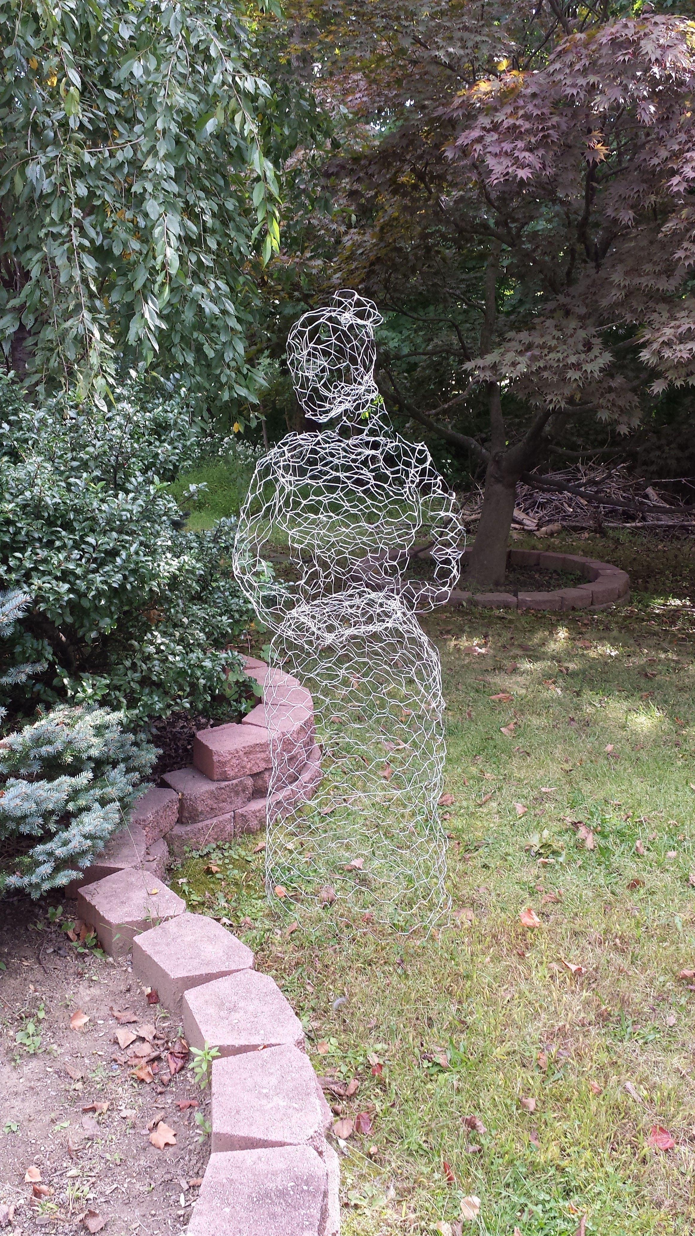 Diy Chicken Wire Ghost Awesome Diy Halloween Decorations Scary