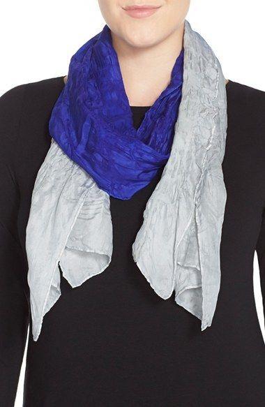 Eileen Fisher Wool & Silk Scarf (Plus Size)