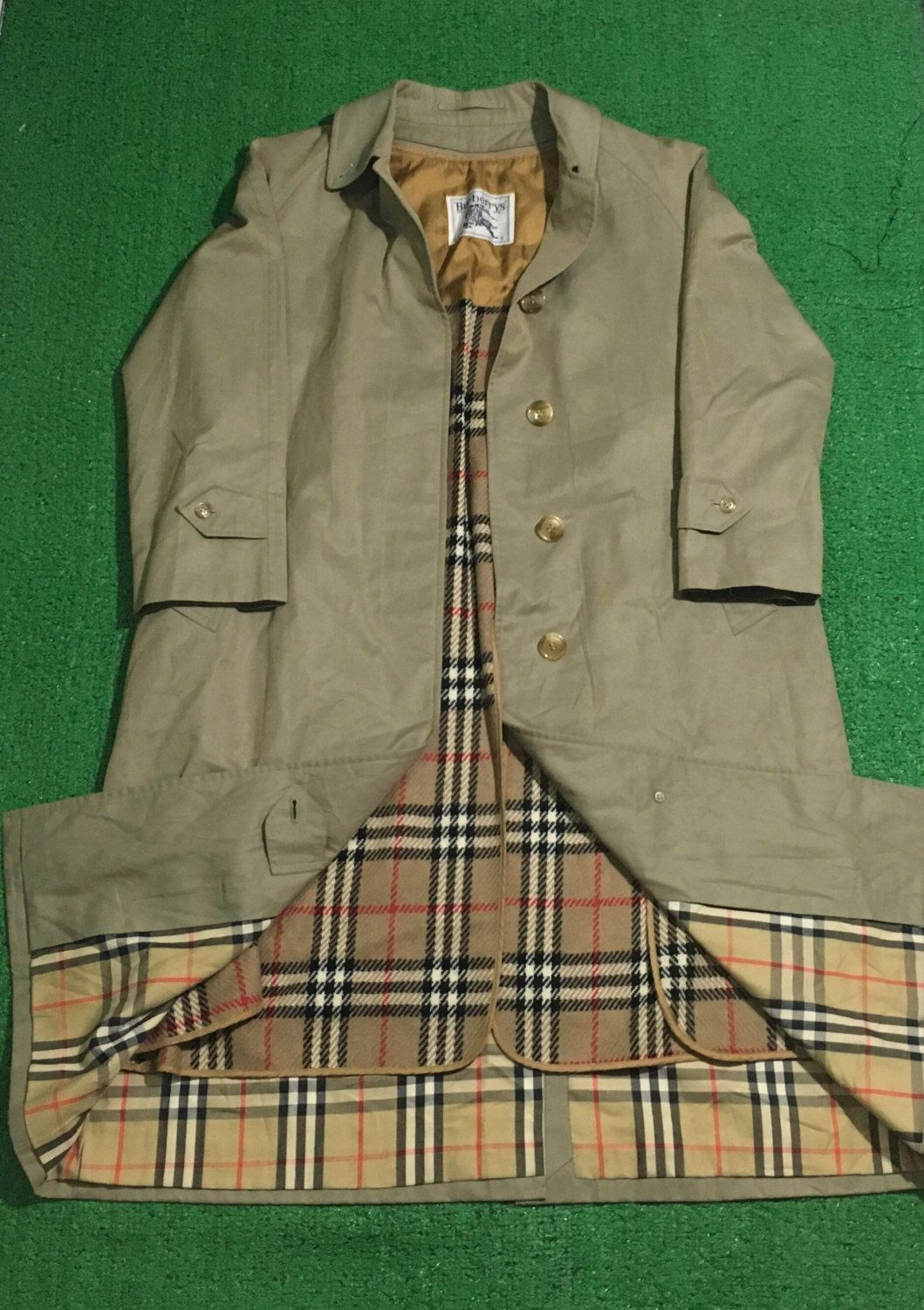 A personal favorite from my Etsy shop https://www.etsy.com/listing/500903201/vintage-burberry-parka-jacket-long-coat