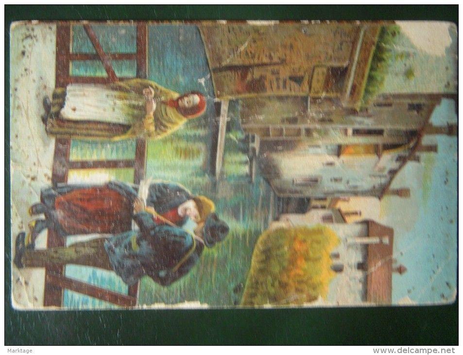 16-L'AVE MARIA DELL OCHA,ED.ARTISTICA 1918,vistato uff.revisione stampa MI n. 1924 - Delcampe.it