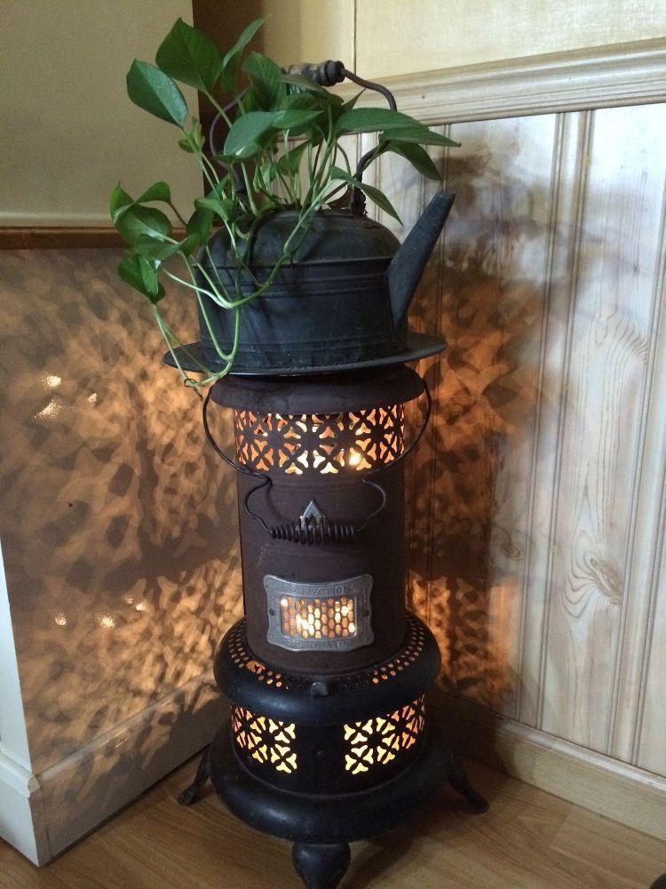 Little Oil Heater Repurposed Oil Heater Kerosene Heater