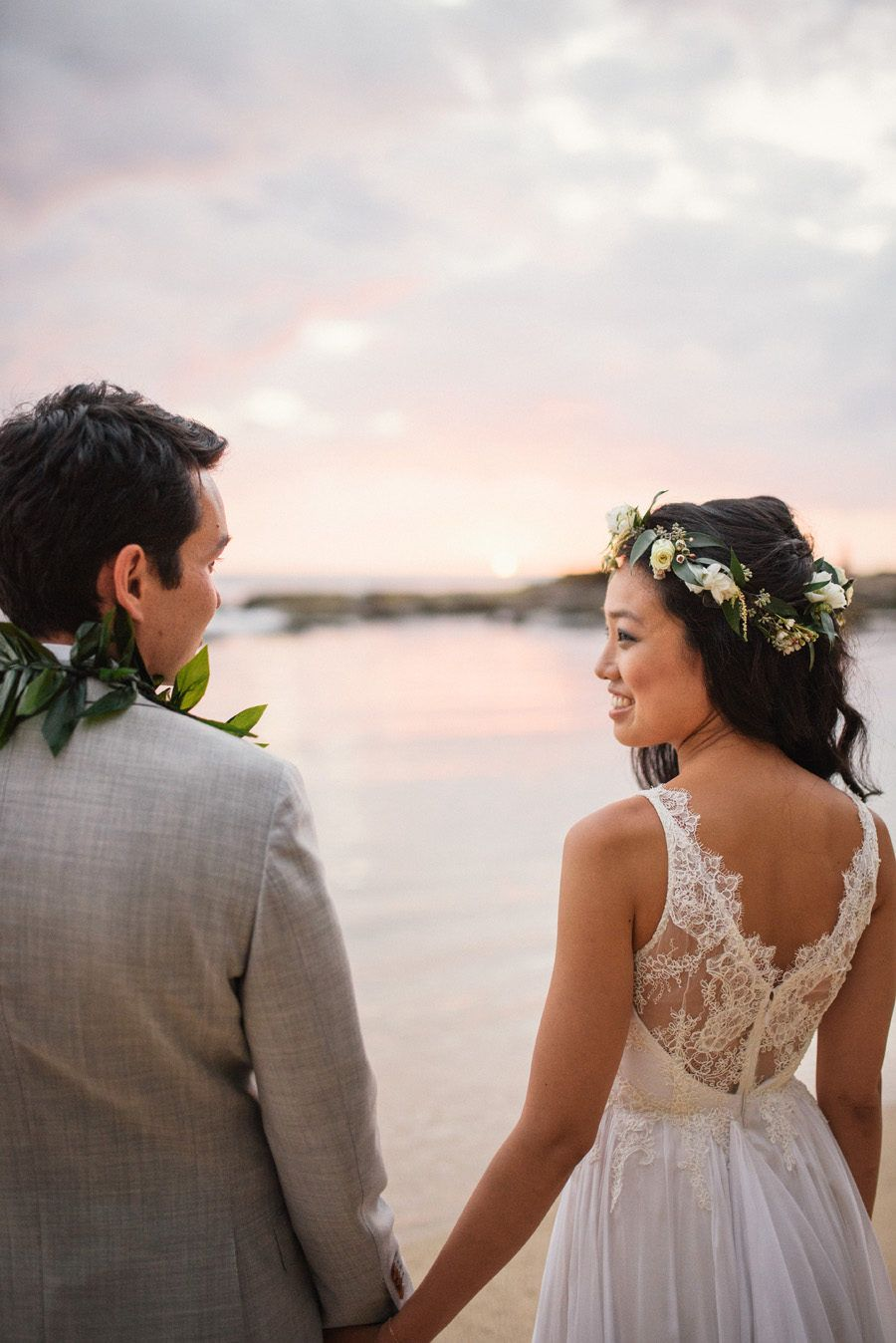 Blogger Two Red Bowls Laid Back Outdoor Hawaiian Wedding In 2020