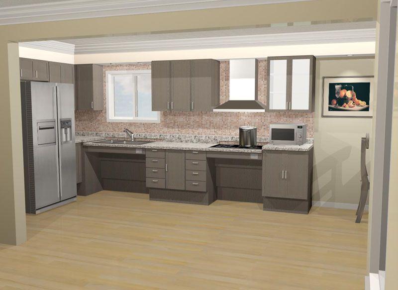 Pin By Jasper Martinez On Interior Design Accessible Kitchen
