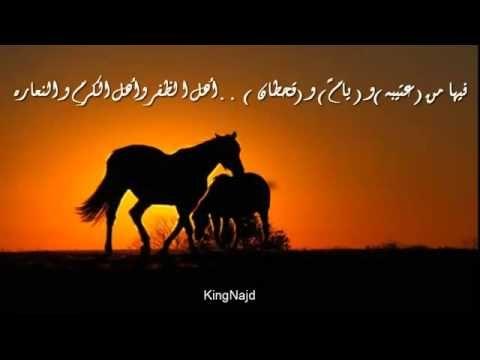 شيله ناصر العتيبي مدح عتيبه يام قحطان Horses Places To Visit Animals