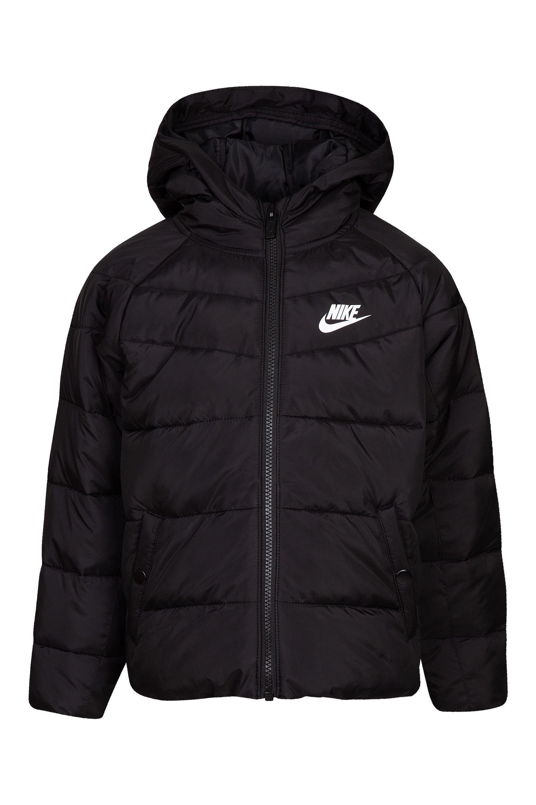 Boys Nike Little Kids Black Filled Jacket Black | Toddler