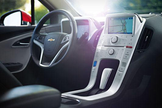 New Chevrolet Volt Interior With Images Chevrolet Volt Chevy
