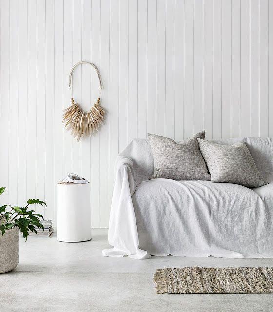 Linen Sofa Slipcover Makeover Slipcovered Sofa Linen Sofa Slip