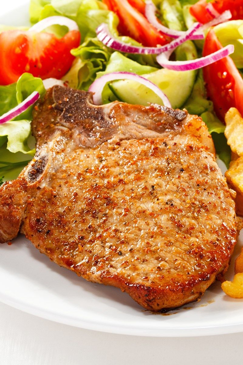Easy Pan Fried Pork Chops Recipe Only 7 Ingredients And