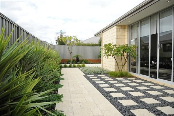 Harveyjenkin landscapes perth modern west australian for Front garden designs perth