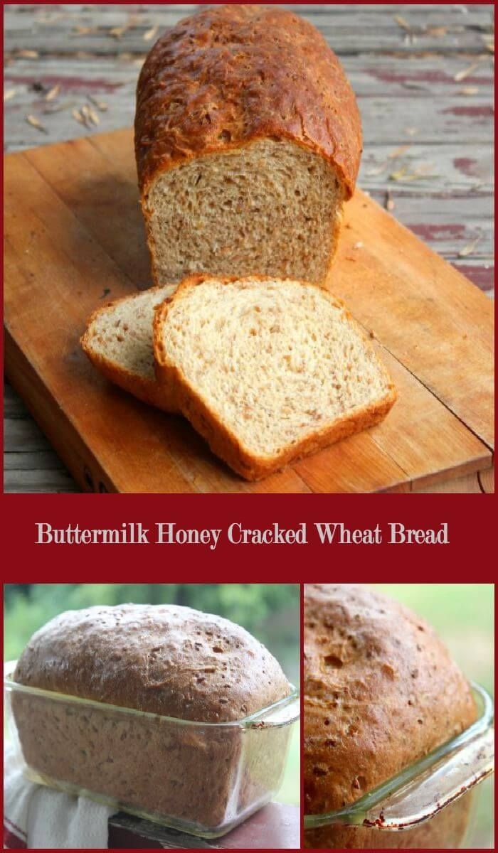 Whole Wheat Bread Recipe Honey Cracked Wheat Recipe Bread Recipes Sweet Cracked Wheat Bread