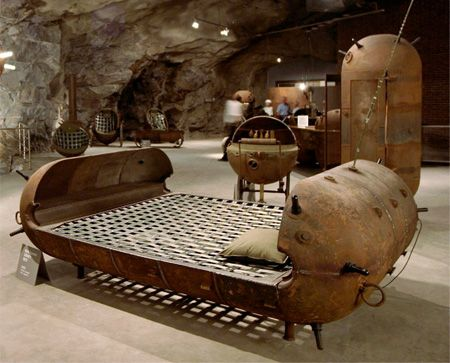 Awesome Estonian Artist Mati Karmin Creates Unique Furniture Out Of Recycled Naval  Mines That Were Used During Images