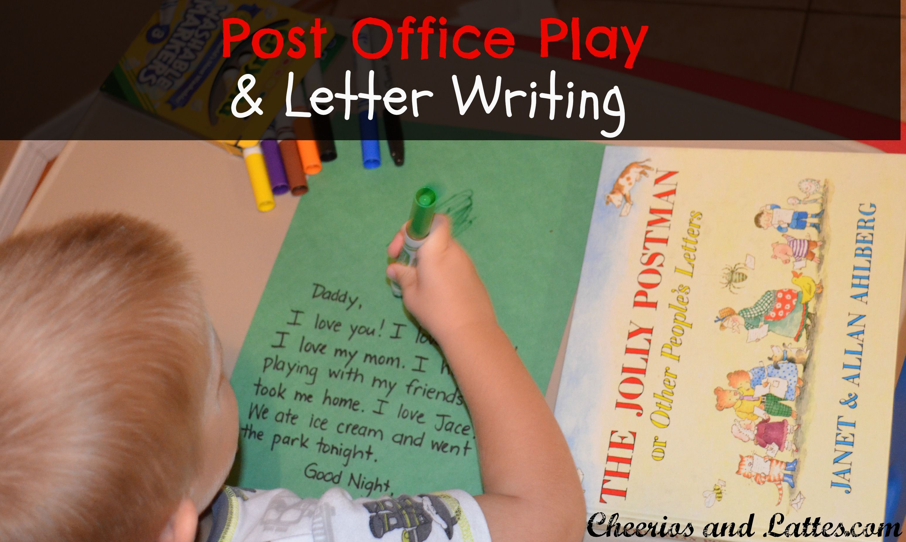 Post Office Play Plus Fun Letter Writing Ideas