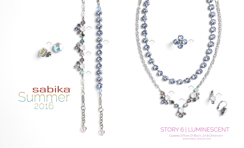 Sabika look necklace - Story 6 Luminescent