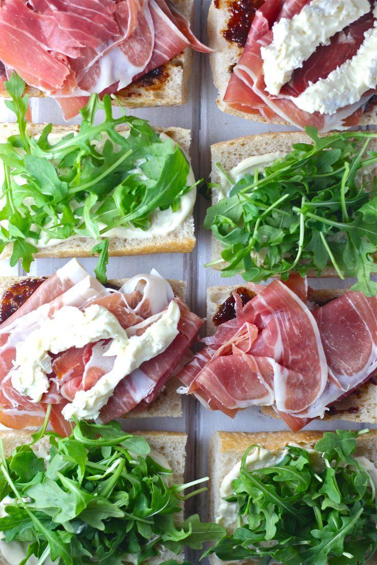 Prosciutto Picnic Sandwiches