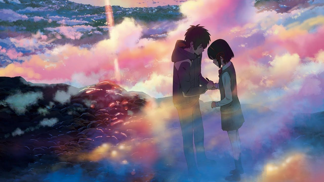 4k Uhd Anime Kimi No Na Wa Your Name Bluray Menue Kimi No Na Wa Your Name Anime Kimi No Na