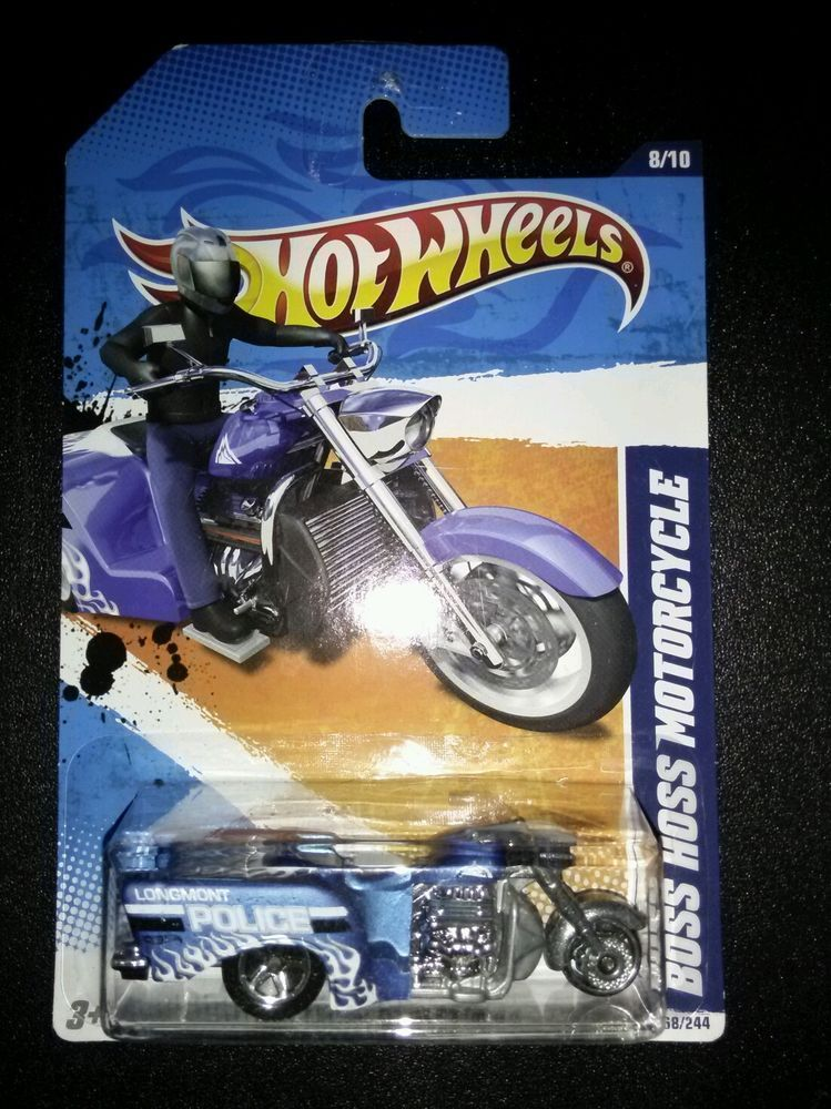#30//50 New Models 2012 Hot Wheels HARLEY-DAVIDSON FAT BOY