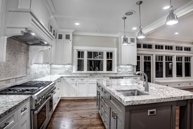 Grey Granite Kitchen Countertops kitchen:granite kitchen countertops with white cabinets granite